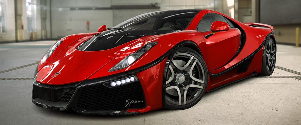 The Spania GTA Spano
